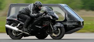 Suzuki Hayabusa (Vince-Green Motorcycle Hearse)