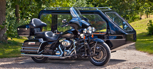 Harley Davidson Electra Glide Motorcycle Hearse