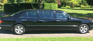 Traditional Black Limousine