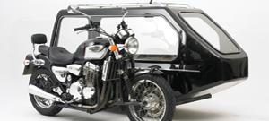 Triumph Bonneville Motorcycle Hearse